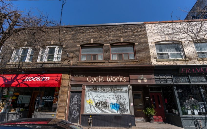 890 Queen Street East Exterior
